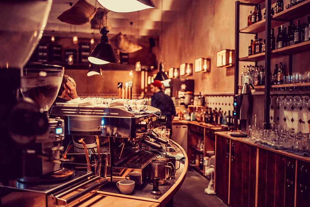 show shine neue r sterei l beck caf restaurant. Black Bedroom Furniture Sets. Home Design Ideas