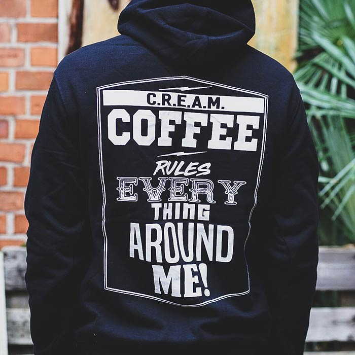coffee rules everything around me hoodie