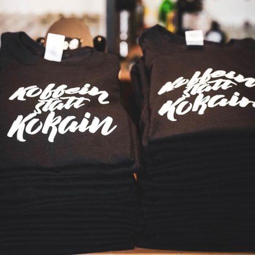 t shirt koffein statt kokain