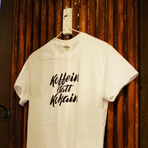 koffein statt kokain t-shirt